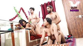 INDIAN FRIEND Fit together SWAPPING - 2 Dicks In One Chick