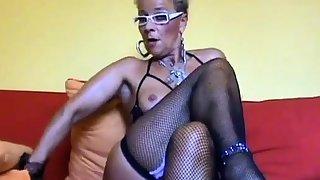 Spectacular busty MILF love anal