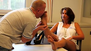 Fabulous homemade German, Foot Fetish porn scene