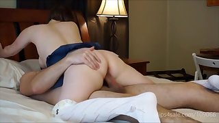 Horny Milf Sucks and Rides Pizza Guy
