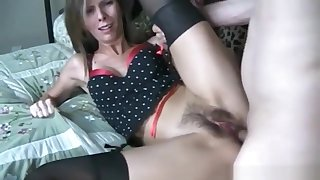 Skinny milf likes to get her tight asshole rammed hard