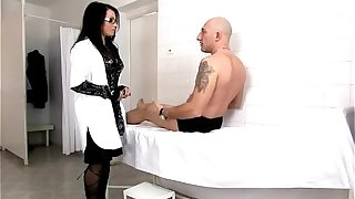 Hot mature italian doctor