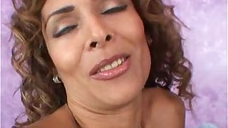 latina milf fucked front her husband