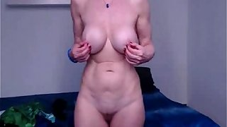 Granny stripping for you