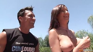 Cuckold husband watching his wife - carina roman