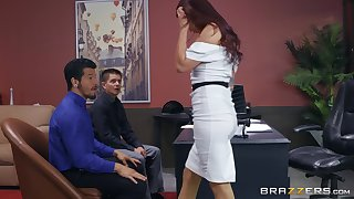 Monique Alexander gets her pussy lip nigh hard and strong boner