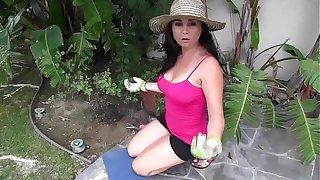 Holly West Taboo Handjob stepmom stepson hot milf sexy big tits