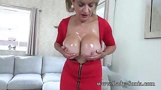 Lady Sonia wants you more wank more her off colour body