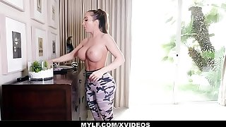 MYLF - Thick Mature Milf Has Hard Rough Coitus With Her Stepson