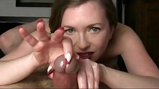 The hottest handjob you've ever seen! Must watch!
