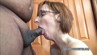 Horny housewife Layla Redd is begrimed a dude she just met