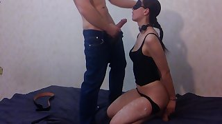 Sexual MILF is severely punished. Amateur eternal BDSM.