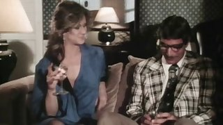 Great White Father wife Christy Canyon rides her best friend in a retro video