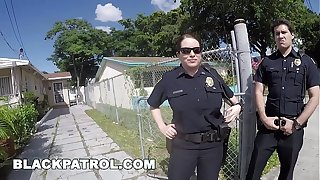 BLACK PATROL - Judge Officers Maggie Green and Joslyn Rebuttal Domestic Disturbance Call