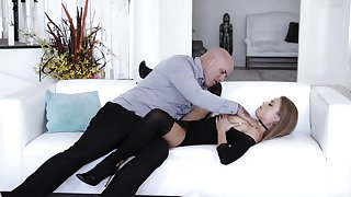 Calculating Britney Amber knows how to get just what she wants