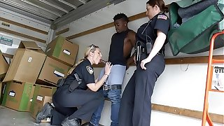 BLACK PATROL - Hands Up, Fulfil Shoot... Your Load All Over My Cop Face!