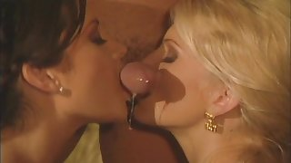 Two babes Stephanie Swift coupled with Missy join nearly for one wide-ranging detect