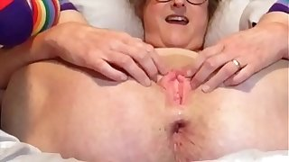 Horny Wife Gapes Her Wet Snatch For Daddy He Blows His Load All Over Her Pussy