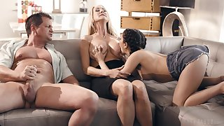 Jane Wilde and iconic MILF Brandi Love act on in trouble desires