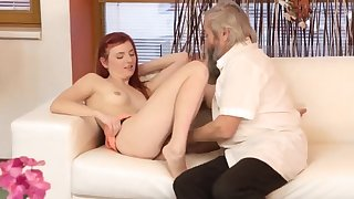 Commercial break blowjob Unexpected experience with an