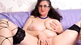 Obese breast and pussy IntenseMature