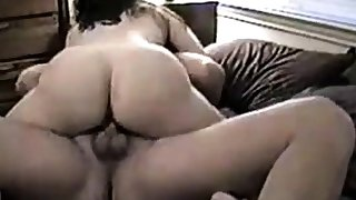 Couple talking perverted during sex